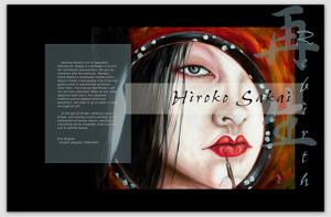 My Book Page Has Opened On Hiroko Sakai Fine Art Online Gallery Shop